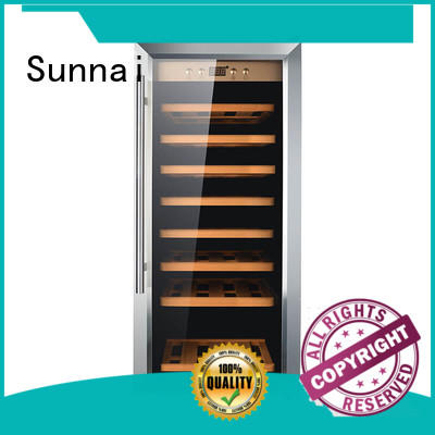 Sunnai durable single zone wine cooler product for home