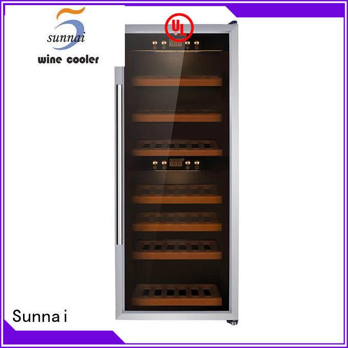 Sunnai smaller freestanding wine fridge manufacturer for home