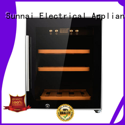 Sunnai size dual zone wine refrigerator product for shop
