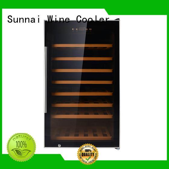 Sunnai smaller freestanding wine cooler supplier for indoor
