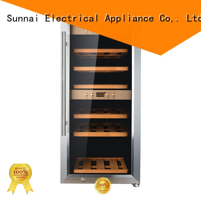 Quality Sunnai Brand smaller chiller freestanding wine cooler