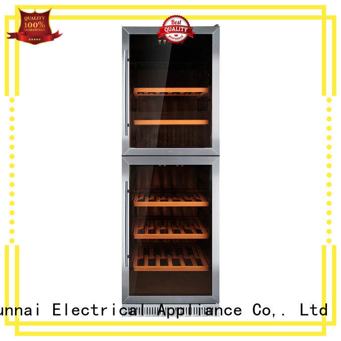 professional under counter wine refrigerator silver compressor for home