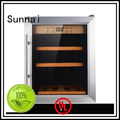 black freestanding wine cooler cellar supplier for shop