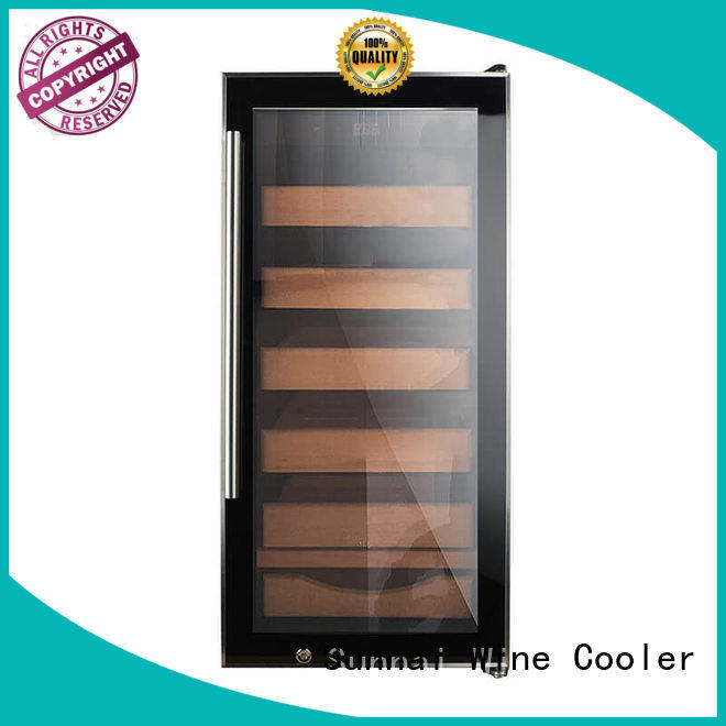 Sunnai online cigar fridge wholesale for work station