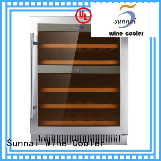 Sunnai safety cheap under counter wine cooler cooler for work station
