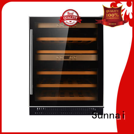 Sunnai high quality double doors wine cooler series for work station