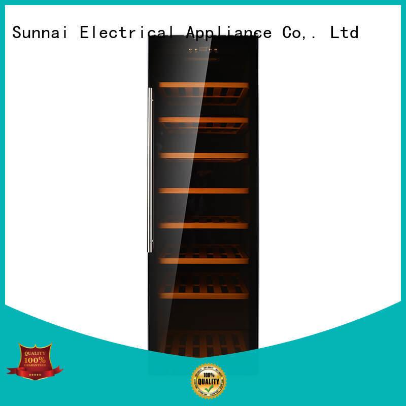 Sunnai high quality wine cooler fridge manufacturer for home