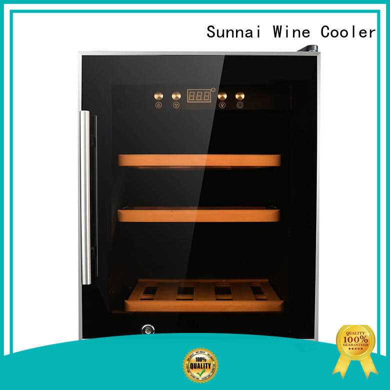 high quality dual zone wine fridge freestanding series for home