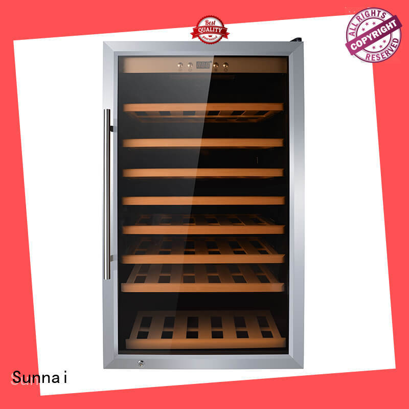 Sunnai table wine storage cooler wholesale for shop