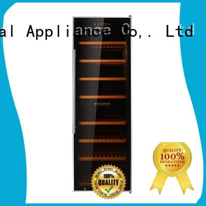 Sunnai professional black wine cooler wood for shop