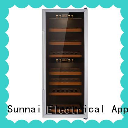 durable freestanding wine fridge smaller supplier for home