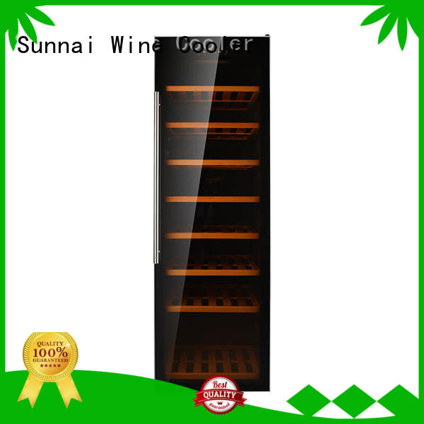professional free standing wine refrigerator panel series for work station