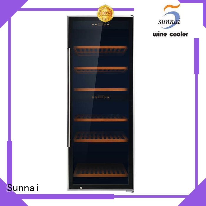 black single zone wine cooler smaller product for indoor