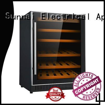 Sunnai high quality single zone wine fridge manufacturer for work station