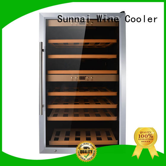 Sunnai smaller wine cooler refrigerator wholesale for work station