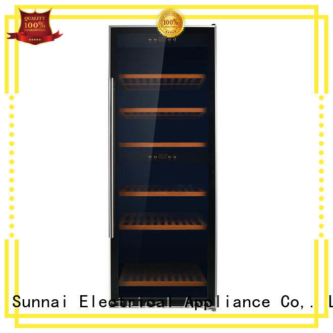 Sunnai beech wine storage refrigerator refrigerator for home