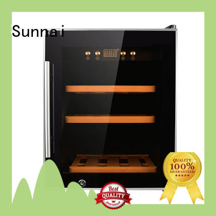 Sunnai single freestanding wine cooler wholesale for home