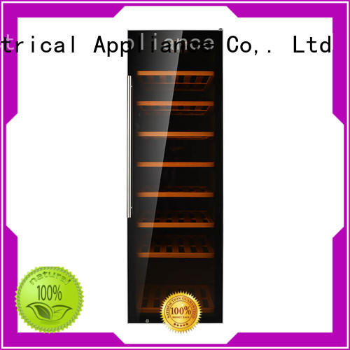 Sunnai single compressor wine refrigerator door for indoor