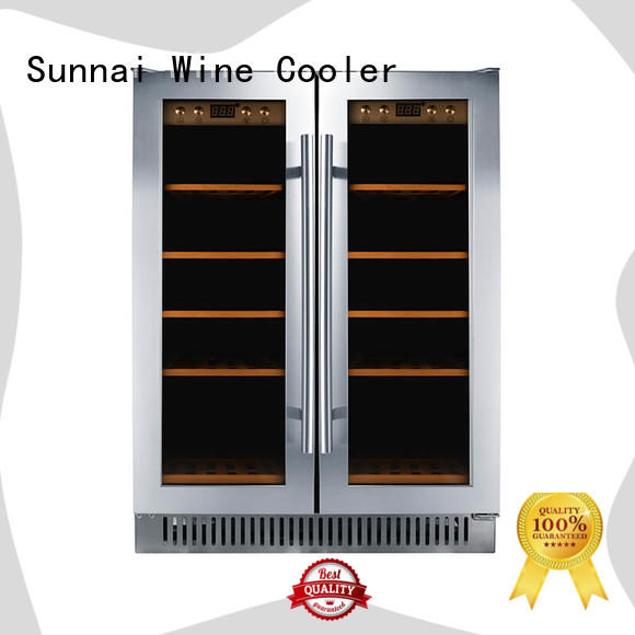 Sunnai single compressor wine coolers wholesale for home