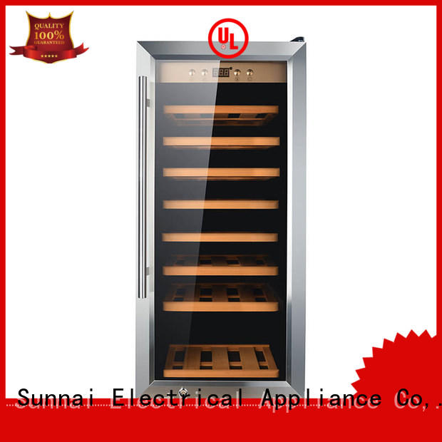 single wine storage cooler wine product for shop