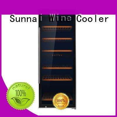 Sunnai online freestanding wine fridge product for indoor