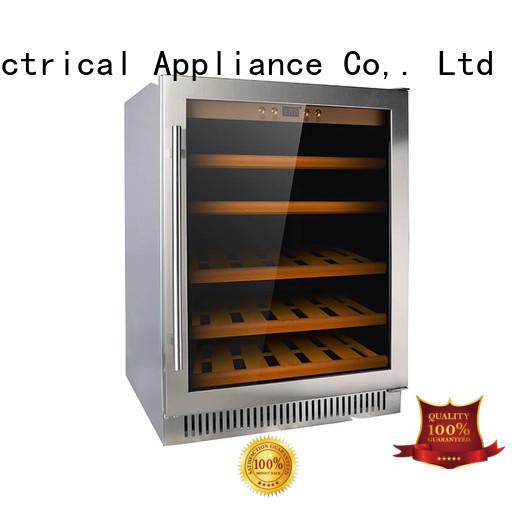 Sunnai double single zone wine fridge series for shop