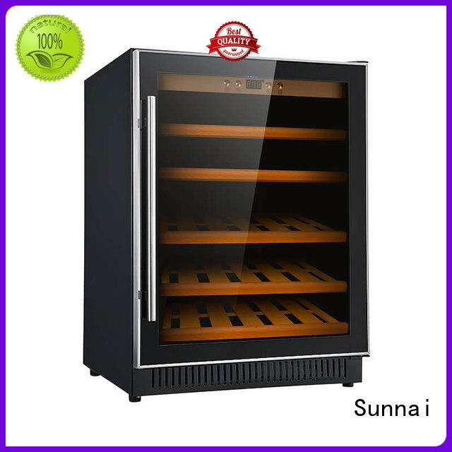 professional under counter dual zone wine fridge panel supplier for shop