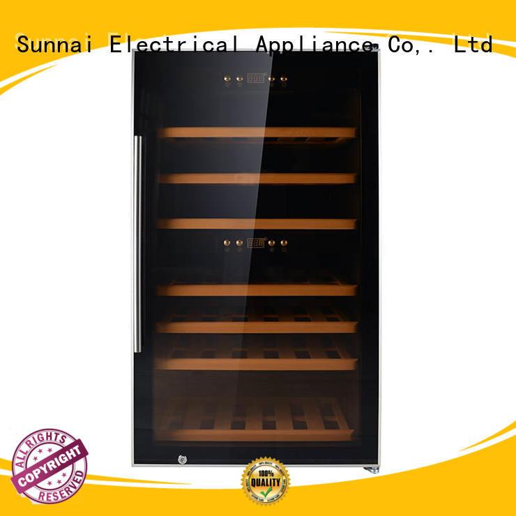 professional dual zone wine fridge fridge wholesale for shop