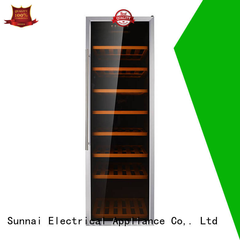 high quality dual zone freestanding wine cooler bottles wholesale for home