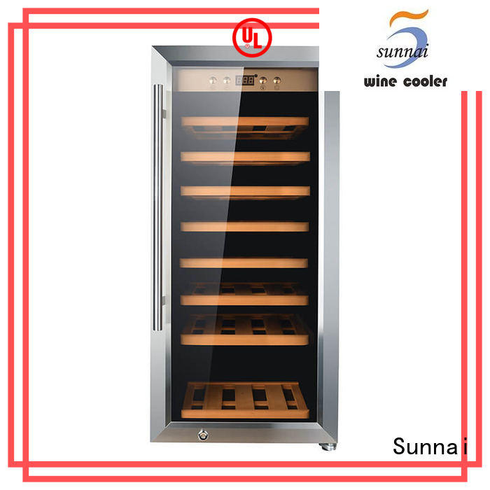 Sunnai single wine storage fridge manufacturer for shop
