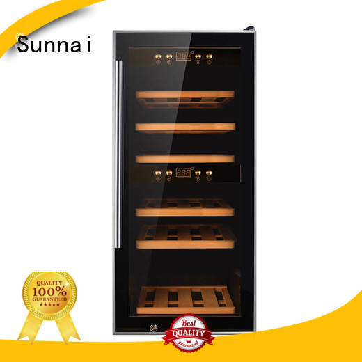 Sunnai panel wine cooler refrigerator product for shop