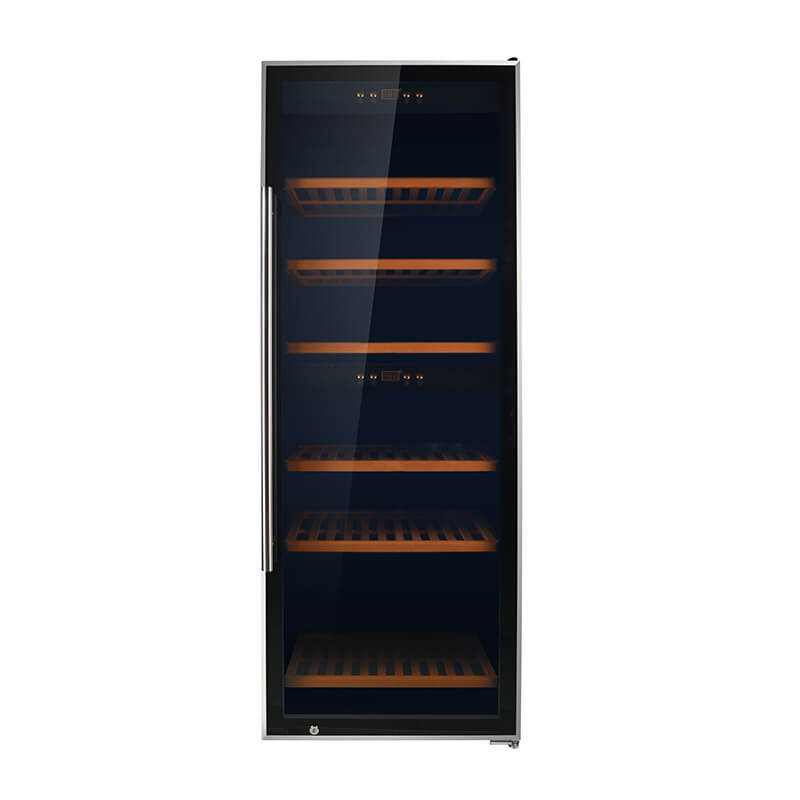 126 Bottles compressor Dual Zone wine chiller