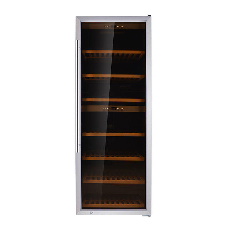 126 Bottles compressor Dual Zone wine refrigerator