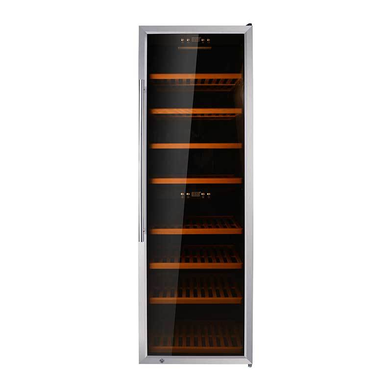 180 Bottles compressor Dual Zone wine cellar
