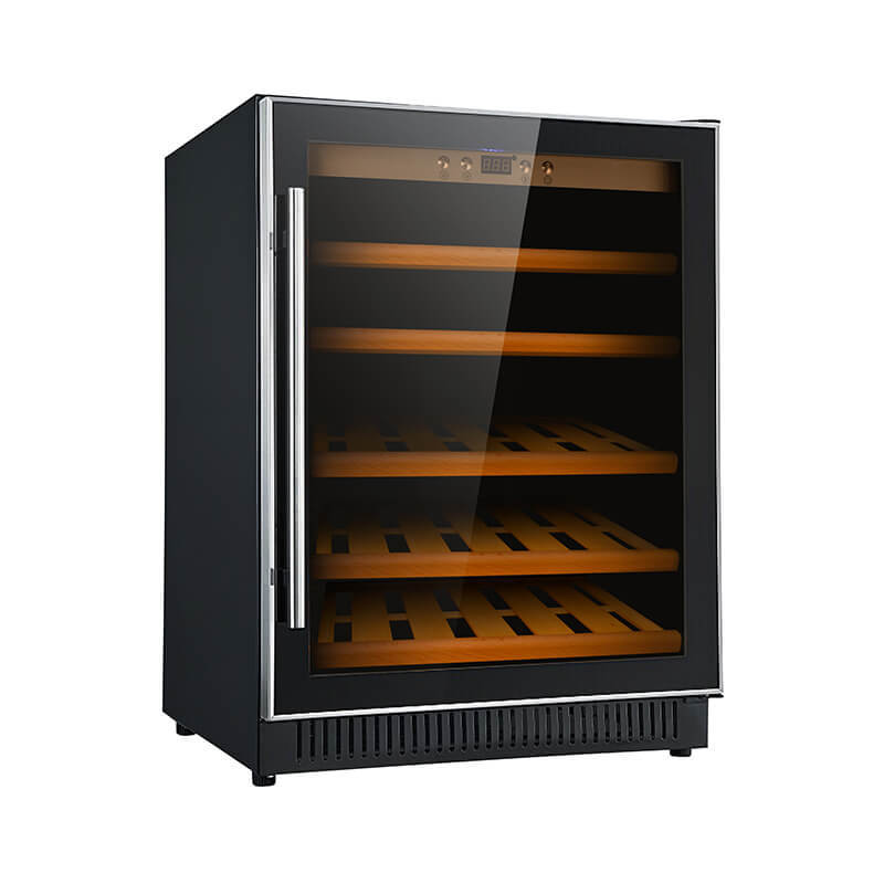51 Bottles undercounter single zone 154L wine fridge