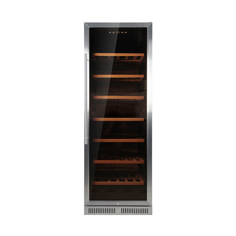 152 Bottles undercounter compressor wine cooler