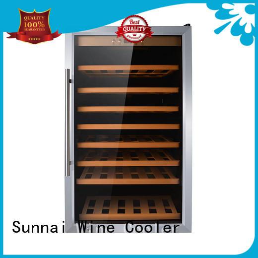Sunnai refrigerator single zone wine refrigerator series for indoor