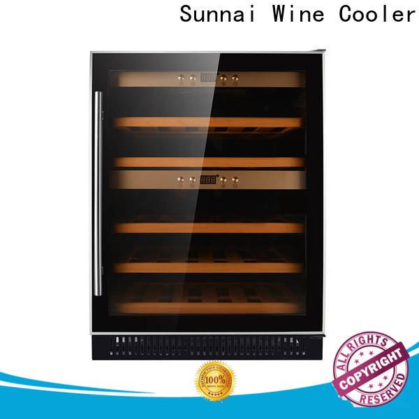 Sunnai wine single zone wine refrigerator series for shop