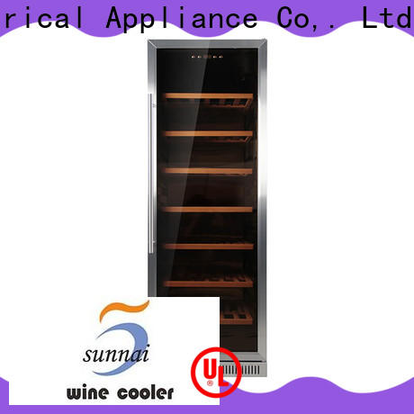 Sunnai single undermount wine cooler cooler for home