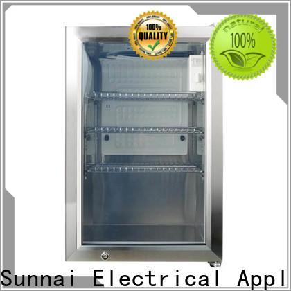 Sunnai cam beverage cooler refrigerator for business for indoor