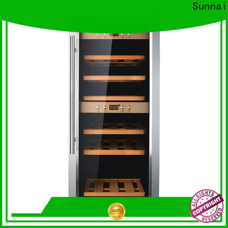 Sunnai double 10 inch wide wine cooler series for home