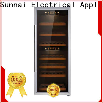 high quality wine cooler width size refrigerator for indoor