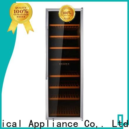 professional integrated wine fridge stainless refrigerator for indoor