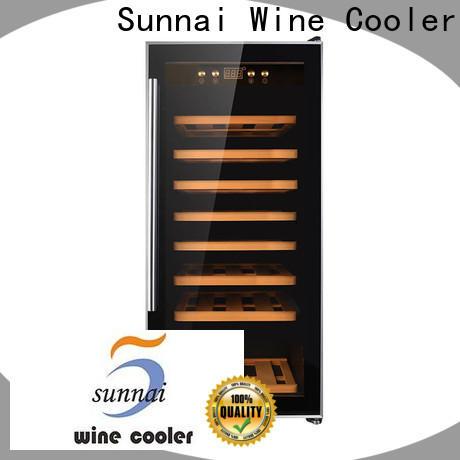 Sunnai chiller best single zone wine refrigerator series for indoor