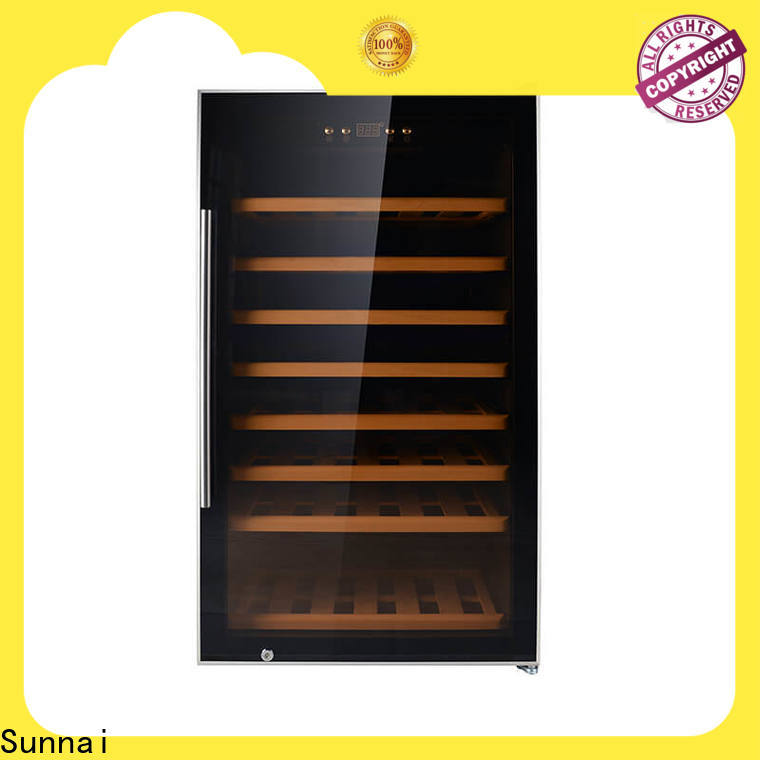 online 30 wide wine cooler black wholesale for work station