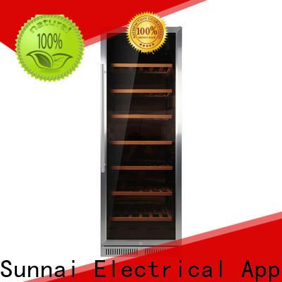 Sunnai durable under worktop wine cooler series for shop