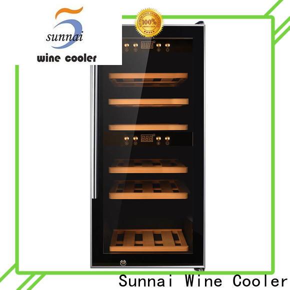 black single bottle wine cooler wine product for home