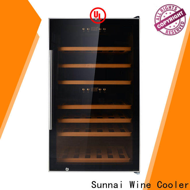Sunnai durable wine cooler white cabinet series for home