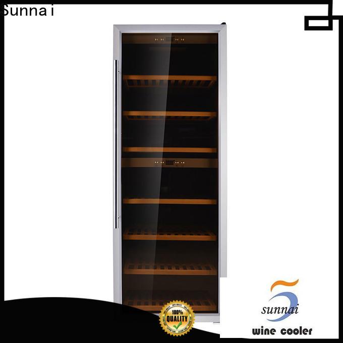 Sunnai cellar shallow wine refrigerator supplier for indoor