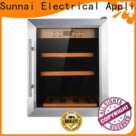 Sunnai refrigerator shop wine coolers manufacturer for work station